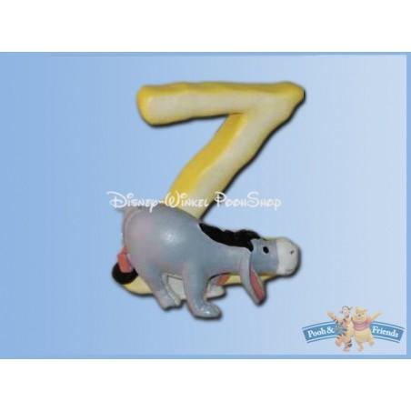 Magnetisch Alfabet Letter Z - Eeyore