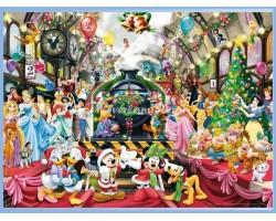 Puzzel 1000 Stuks - In Parijs - Mickey & Minnie