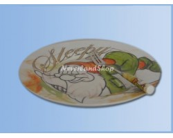 1112 Dessertbord + Vork 14cm - Sleepy
