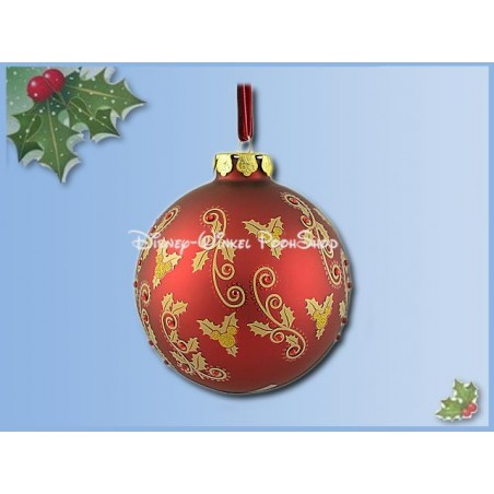 7491 Ornament Victorian  Red - Mickey