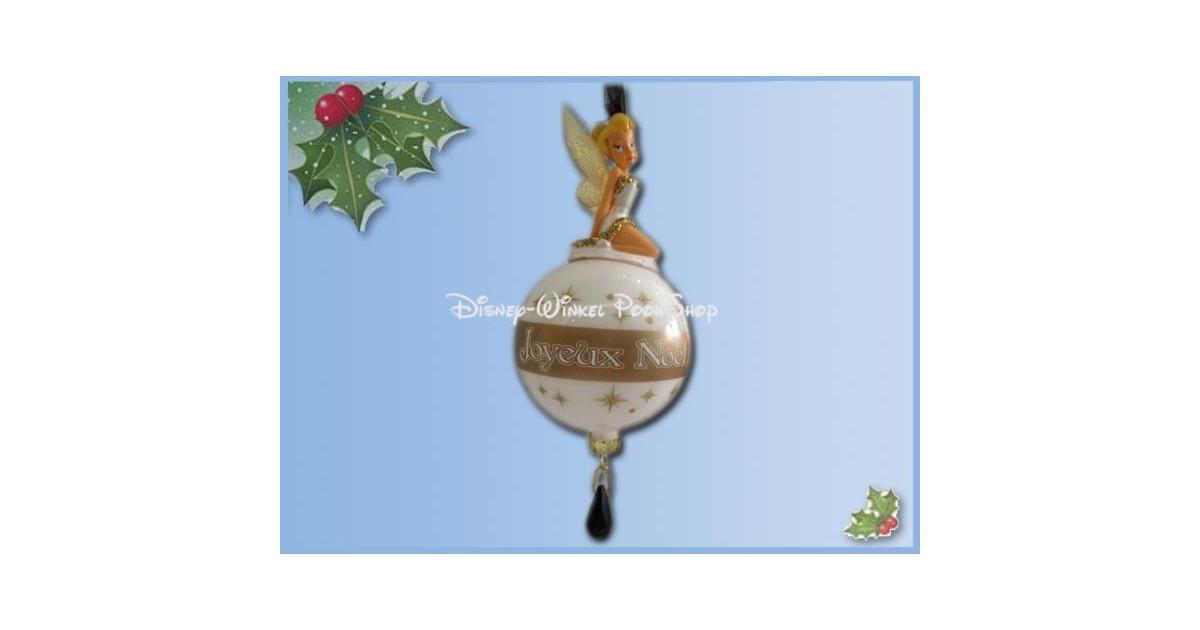8172 3D Figuur op Bal - Joyeux Noel - Tinker Bell