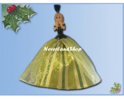 8189 3D Dangle Ornament X-Mas Gown - Frozen - Anna