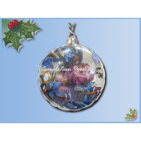 7540 Kerstbal - Alice in Wonderland in Wonderland - Cheshire Cat