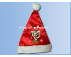 Bonte Satin Kerstmuts - Minnie