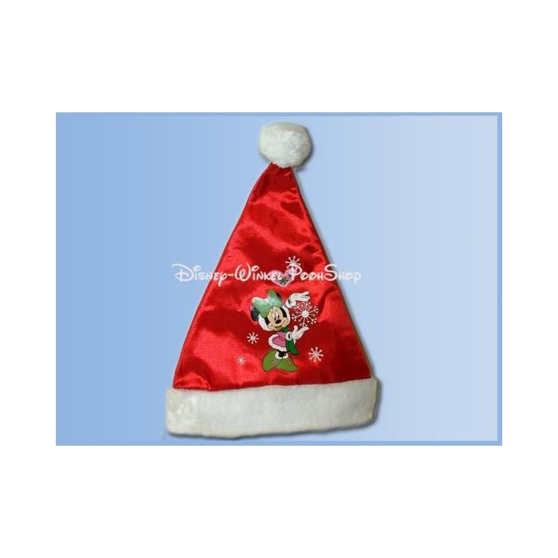 Bonte Satin Kerstmuts - Minnie
