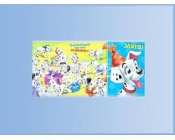 Verjaardagskaart 10x15 - 101 Dalmatians