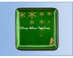 Glazen Bord 17-17cm Groen - Mickey