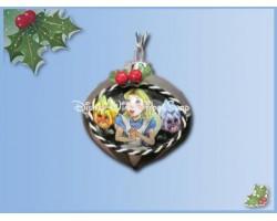 7541 Kerstbal - Alice