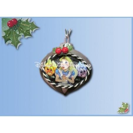 7541 Kerstbal - Alice in Wonderland in Wonderland - Alice in Wonderland
