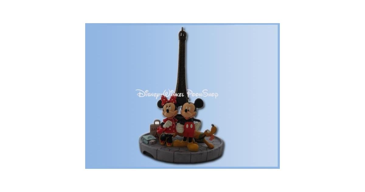 Mid Fig Eiffeltoren - Mickey, Minnie & Pluto