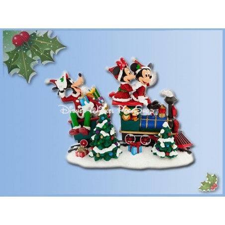 Kerstbeeld in de Trein - Mickey & Co