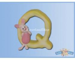 Magnetisch Alfabet Letter Q - Piglet