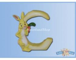 Magnetisch Alfabet Letter C - Rabbit