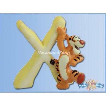 Magnetisch Alfabet Letter X - Tigger