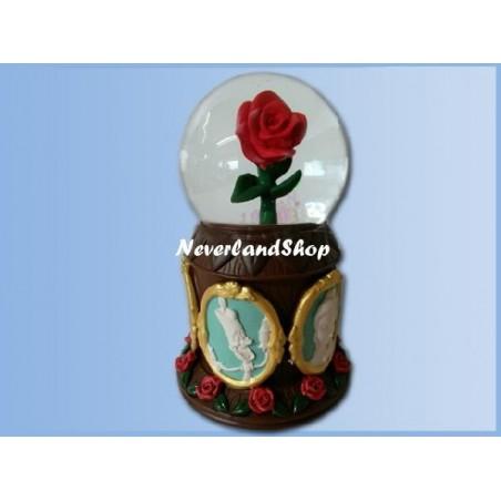 Snowglobe - Beauty & the Beast - Rose
