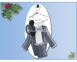 8511 Costume Ornament Groom - Mickey