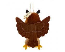 8501 StoryBook Plush Ornament - Owl