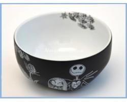 Black & White Bowl - Jack Skellington & Sally